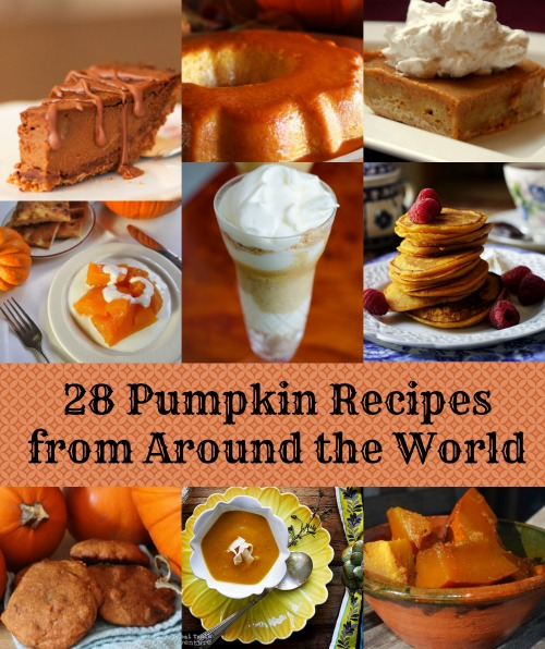Pumpkin Recipes Around the World- Kid World CItizen