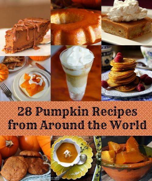 Pumpkin Recipes Around the World- Kid World CItizen