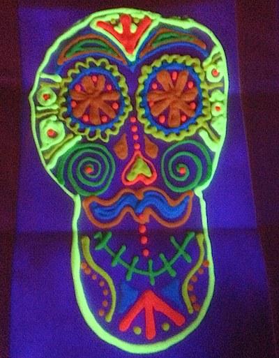 Glow in the Dark Skull- Kid World CItizen