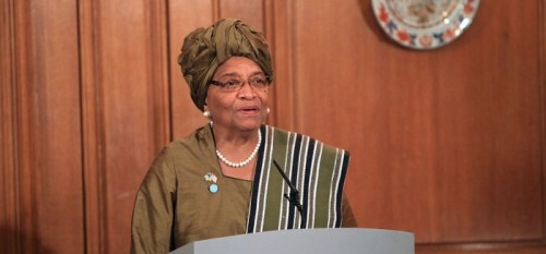 Liberian President- Kid World Citizen