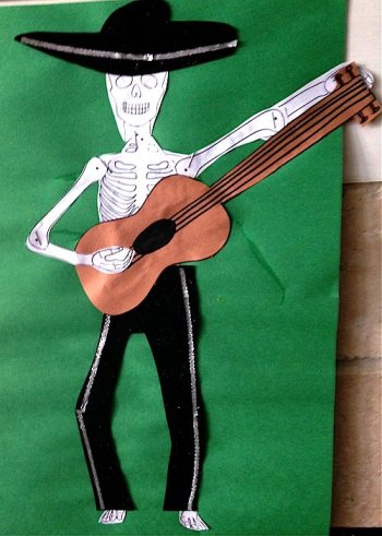 Mariachi Skeleton Craft- Kid World Citizen