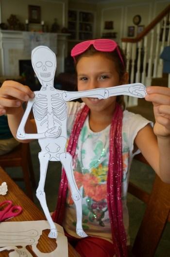 Skeleton Craft- Kid World Citizen
