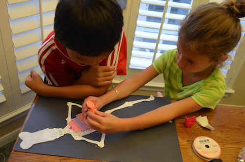 Skeleton Craft Dia de Muertos- Kid World Citizen
