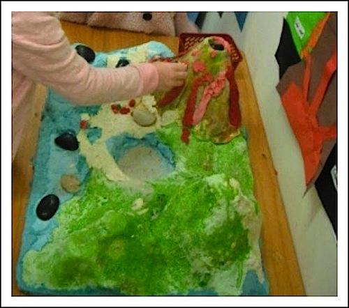 Volcano Montessori Geography Activity- Kid World CItizen