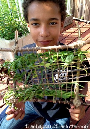 Nature Weaving Project For Kids- Kid World Citizen