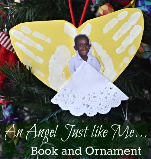 An Angel Just Like Me Ornament- Kid World Citizen