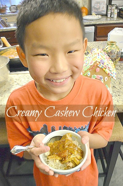 Indian Cashew Curry Chicken Recipe- Kid World Citizen