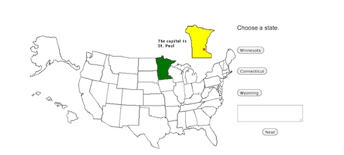 US State Capital Geography Online- Kid World Citizen