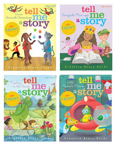 Eeboo Tell Me A Story Board Game- Kid World Citizen