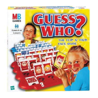 Guess Who Board Games- Kid World Citizen