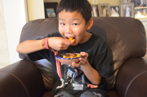 Easy Mango Salsa Recipe- Kid World Citizen