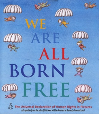 We are all born free- Kid World Citizen