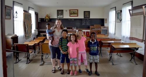 Laura Ingalls Wilder Museum Kansas House- Kid World Citizen