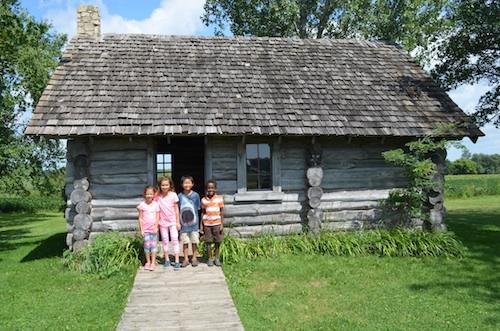 Little House in the Big Woods Laura Ingalls Wilder Museum- Kid World Citizen