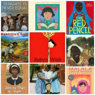 Books about Girls in School: Fighting for their Education