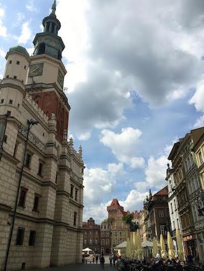 Poznan Old Market Square- Kid World Citizen