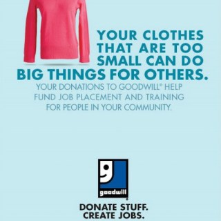 Reduce and Declutter While Helping Families With Goodwill