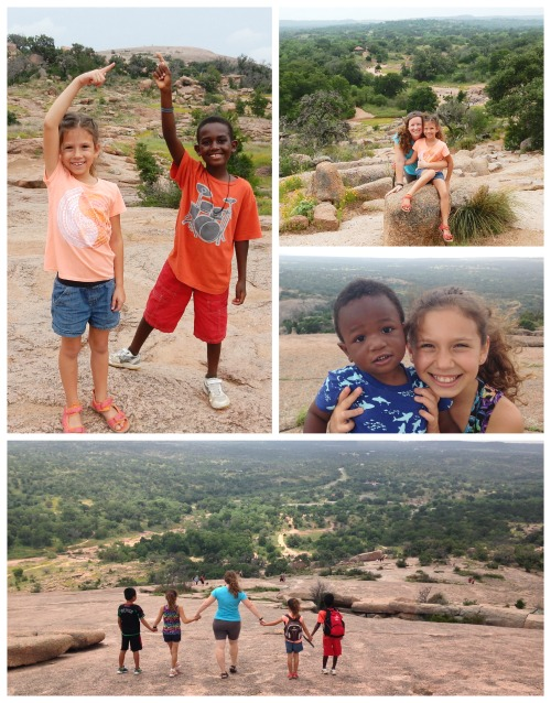 Enchanted Rock Texas Hiking with Kids- Kid World Citizen