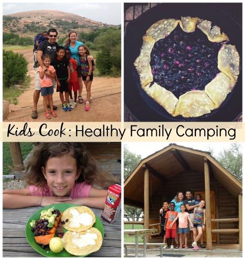 Kids Cook Healthy Family Camping- Kid World Citizen
