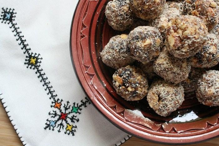 Moroccan Snacks Haroset Balls- Kid World Citizen