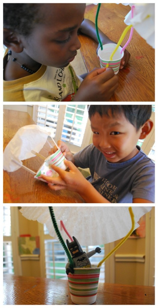Kids Make Parachutes- Kid World Citizen