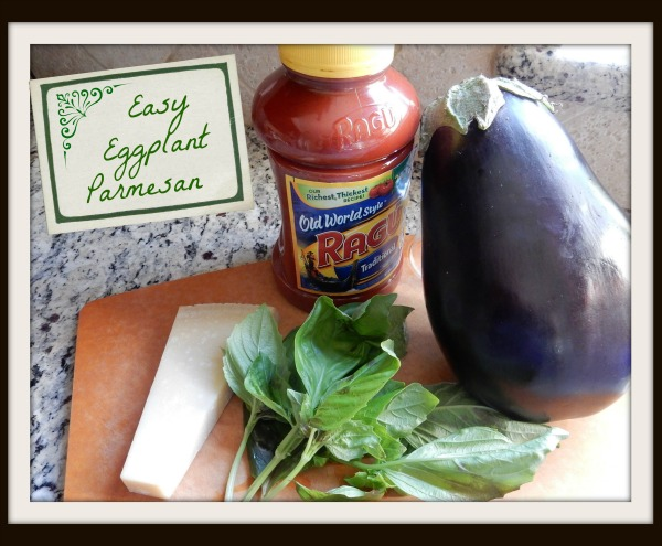 Easy Eggplant Parmesan Ingredients- Kid World Citizen
