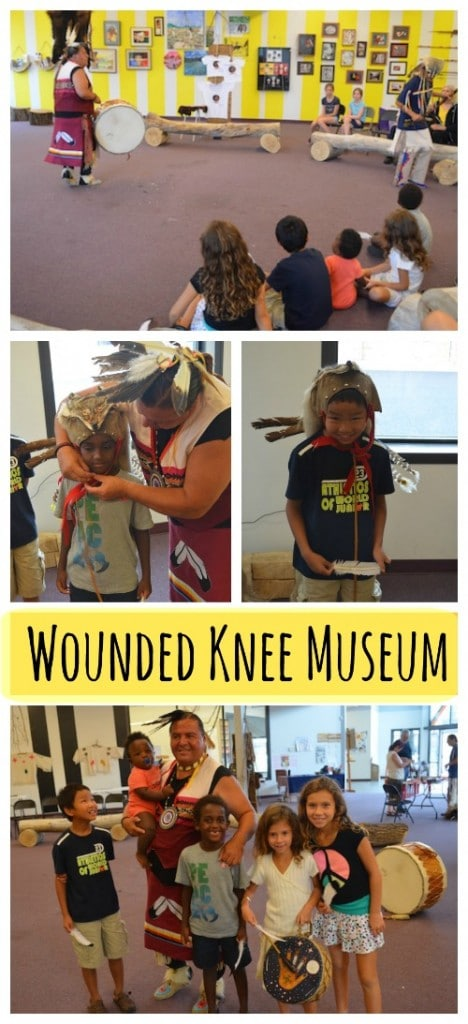 Wounded Knee Museum Kids Visit Travel- Kid World Citizen