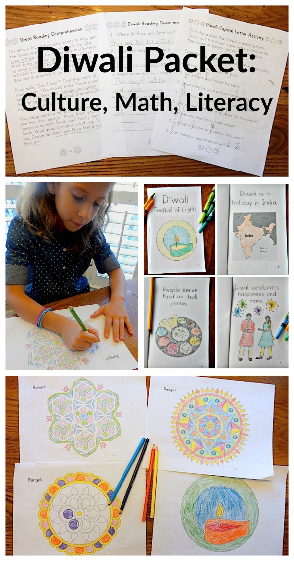 Story of Diwali Packet for Kids Classes- Kid World Citizen