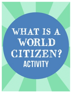 What is a Global Citizen? Kid World Citizen
