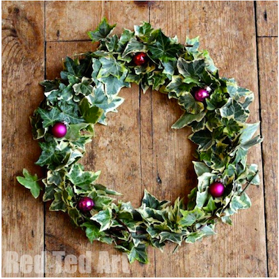 Ivy Christmas Wreath- Kid World Citizen