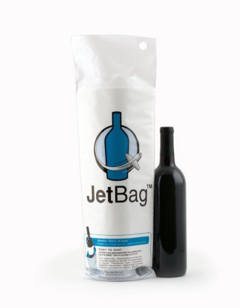 Jet Padded Wine Bag travel Stocking Stuffers- Kid World Citizen