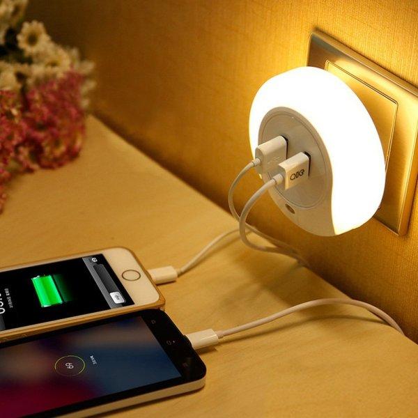 KEDSUM Night Light USB Stocking Stuffers for Travelers- Kid World Citizen