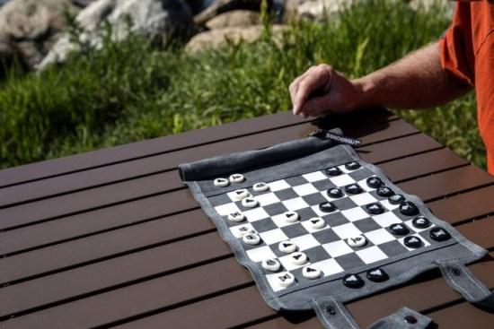 Travel Chess Checkers Stocking Stuffers- Kid World Citizen