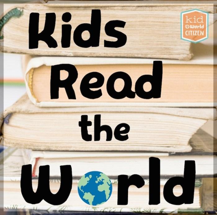 Kids Read the World Small Button- Kid World Citizen