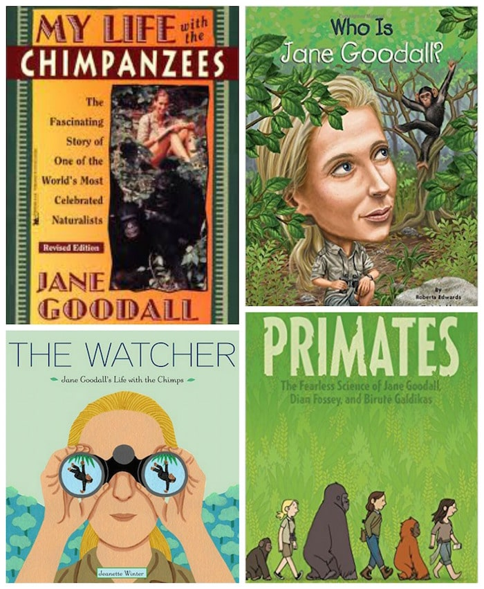 Jane Goodall Books for Kids Women Scientists- Kid World Citizen