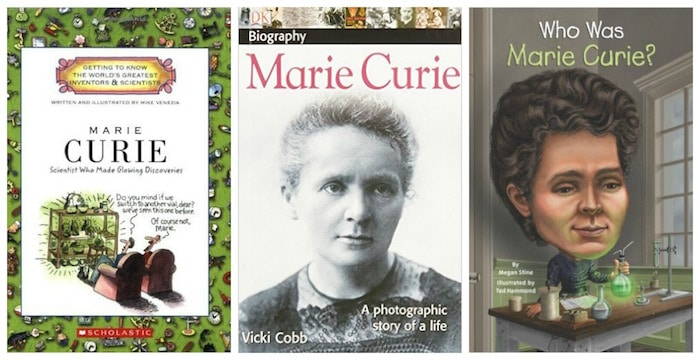 Marie Curie Women Scientists Books- Kid World Citizen