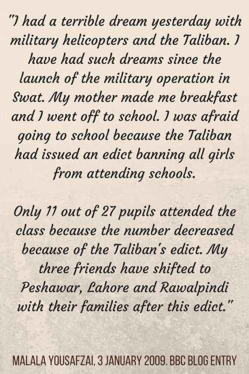 Malala Quote- Kid World Citizen