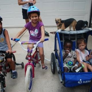 Bicycling with Kids- Kid World Citizen