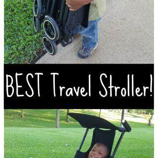 Best Travel Stroller- Kid World Citizen