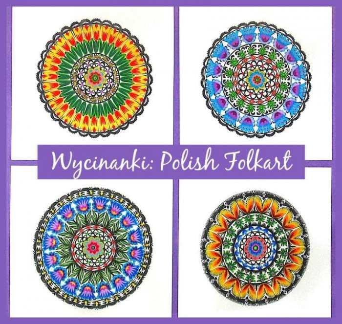 Wycinanki Polish Folkart Examples- Kid World Citizen