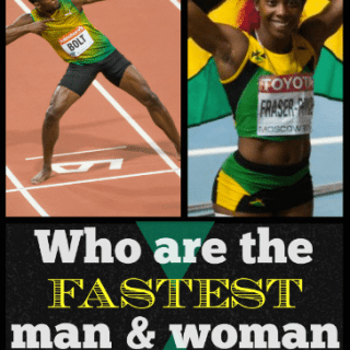 Who is the Fastest Person in the World?