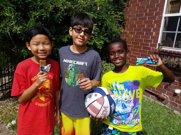 Backyard Olympics Kids- Kid World Citizen