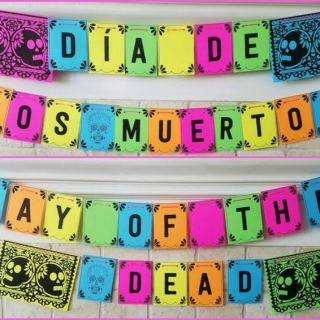 Day of the Dead Banners- Kid World Citizen