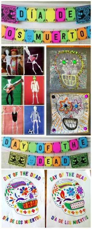 Day of the Dead Decorations Kids- Kid World Citizen