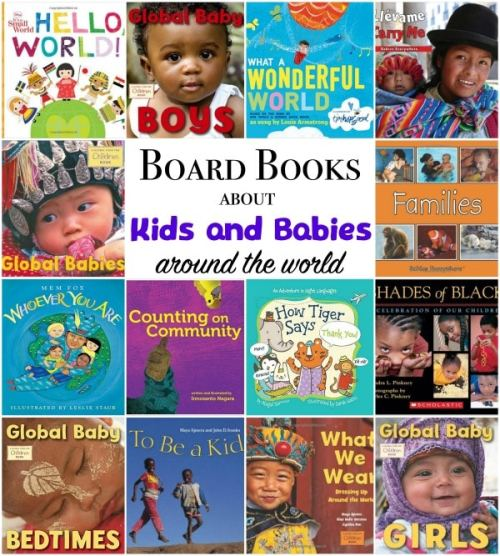 Multicultural Board Books Kids- Kid World Citizen