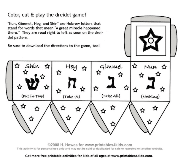 What is a Dreidel? How to Make and Play with this Traditional Toy