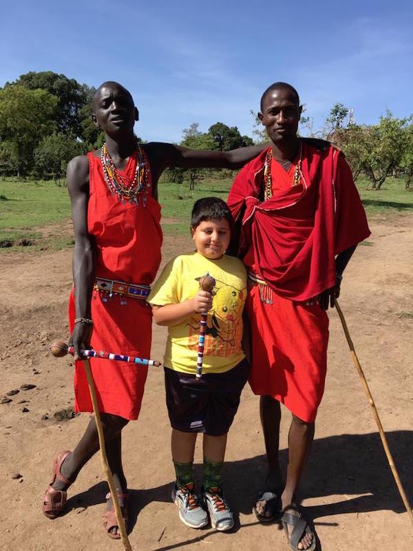 masai Kenya kids- Kid World Citizen