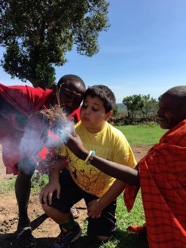 masai kenya kids travel- Kid World Citizen