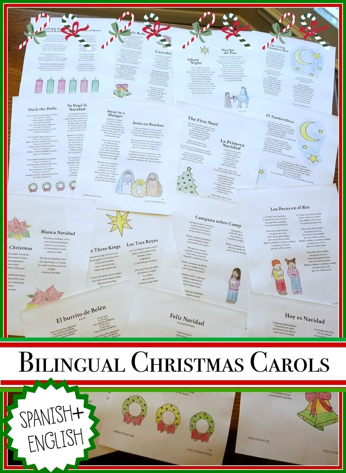 Christmas Carols in Spanish (Villancicos Navideños)