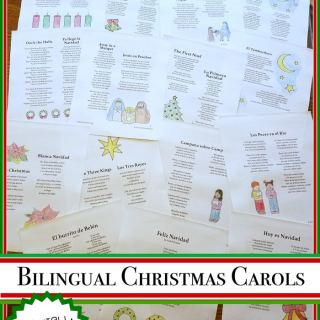 Christmas Carols in Spanish- Kid World Citizen